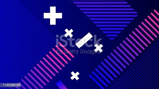 520740170 istock photo Colorful Geometric Background 1142255753