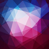 Colorful geometric background with triangle pattern - eps10