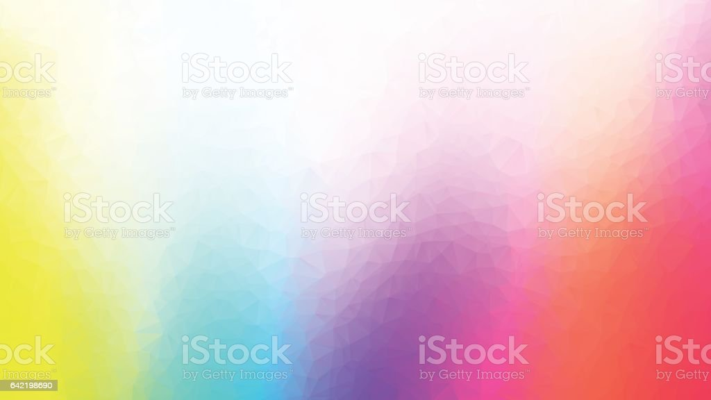 colorful geometric polygonal abstract background - ilustración de arte vectorial