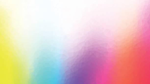 colorido fondo abstracto poligonal geométrico - ilustración de arte vectorial