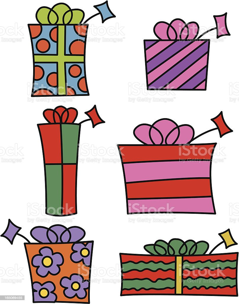 Colorful Gifts royalty-free colorful gifts stock vector art & more images of birthday