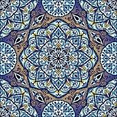 Colorful, glaze seamless pattern.