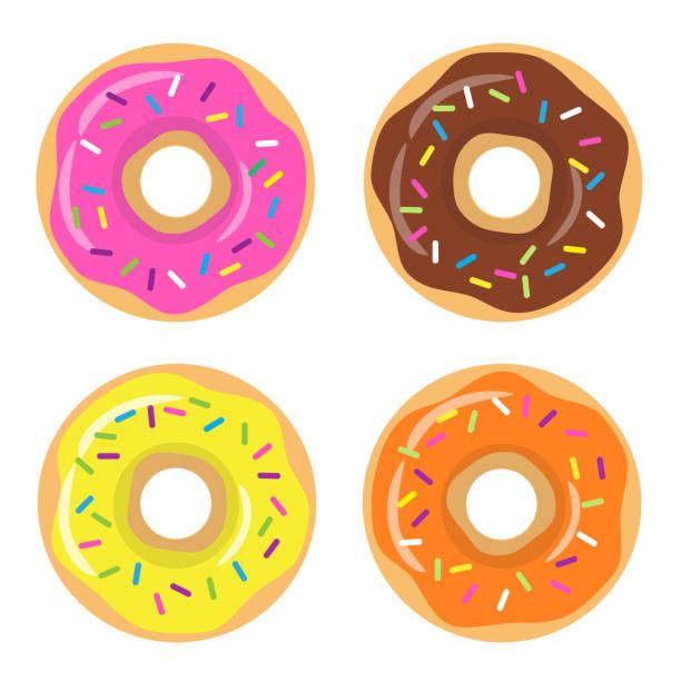 Best Glazed Donut Illustrations, Royalty-Free Vector ... (612 x 612 Pixel)