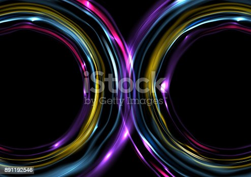901409540istockphoto Colorful glowing electric neon abstract background 891192546