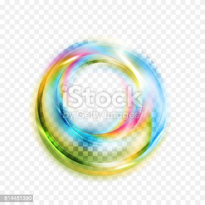 901409540istockphoto Colorful glowing shiny abstract circles on checkered background 814481390