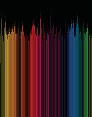 colorful gradient stripe pattern background