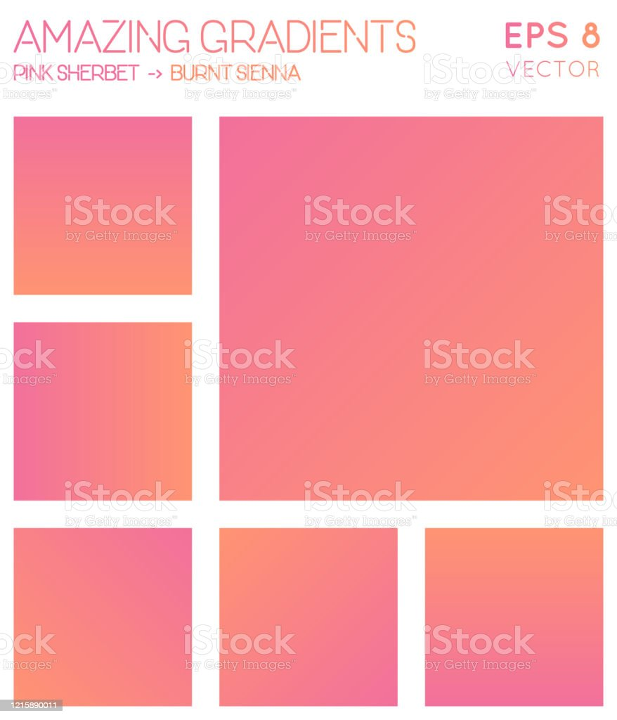 Colorful Gradients In Pink Sherbet Burnt Sienna Color Tones Stock Illustration Download Image Now Istock Turning off all three components results in a black pixel. colorful gradients in pink sherbet burnt sienna color tones stock illustration download image now istock