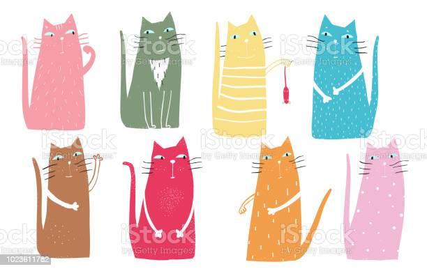 Colorful graphic cats poster design vector id1023611782?b=1&k=6&m=1023611782&s=612x612&h=u6rpesw02yhjp7i ldp2riogiebno85opeizkcggxv0=