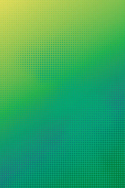 Bекторная иллюстрация Colorful Halftone Pattern Abstract background suggesting cloudscape
