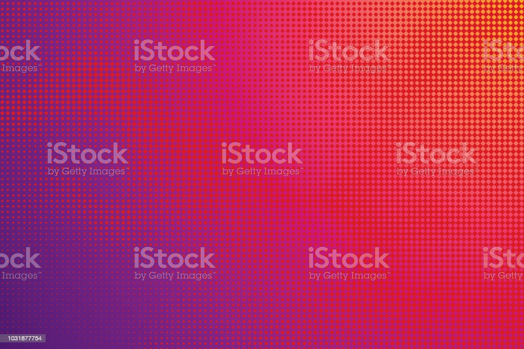 Colorful Halftone Pattern Abstract background - Векторная графика Абстрактный роялти-фри