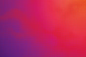Colorful Halftone Pattern Abstract background