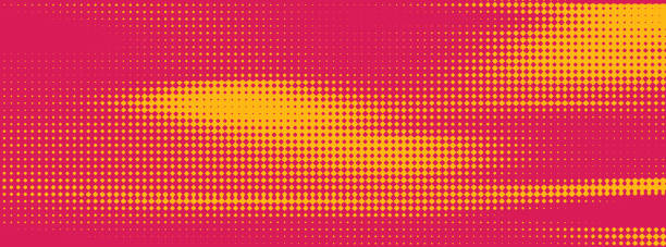 bunte halftone pattern abstract background - morphing stock-grafiken, -clipart, -cartoons und -symbole