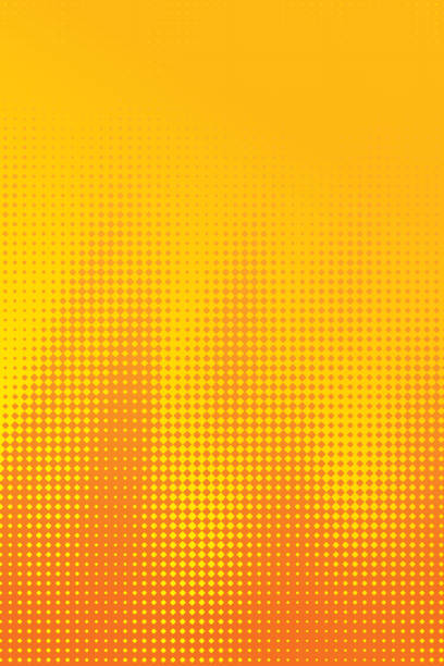 Bекторная иллюстрация Colorful Halftone Pattern Abstract background