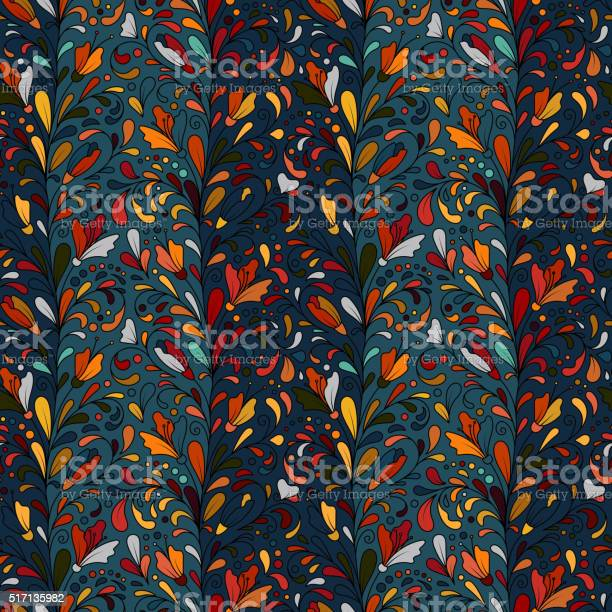 Colorful hand drawn vector seamless floral pattern with flowers and vector id517135982?b=1&k=6&m=517135982&s=612x612&h=rp0snfq1x80z7vrvql0rlaajttm a4g1jqb6xhydows=