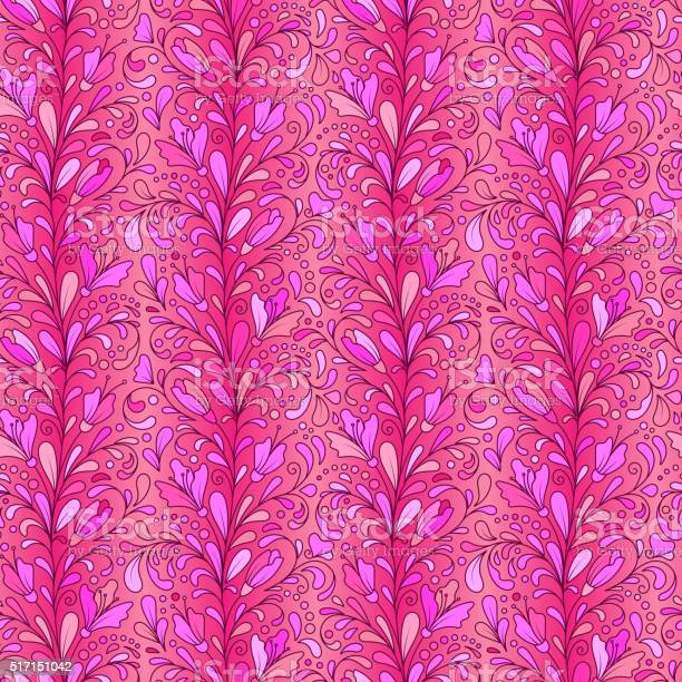 Colorful hand drawn vector seamless floral pattern with flowers and vector id517151042?b=1&k=6&m=517151042&s=612x612&h=gifpiihan7oeroc3yk2yws1rvs pr3hzcnbuepux6rw=
