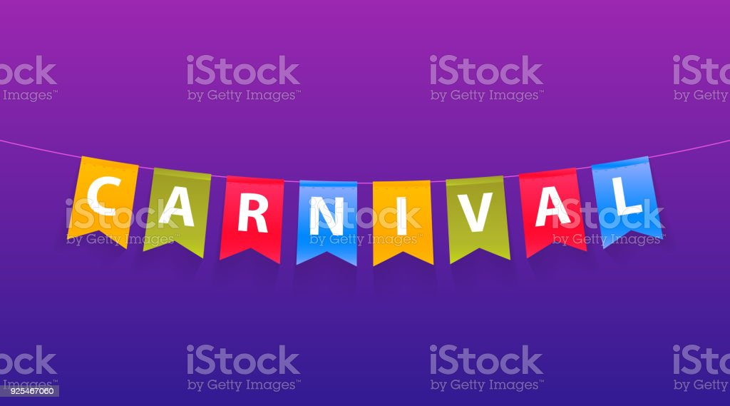 carnival template word