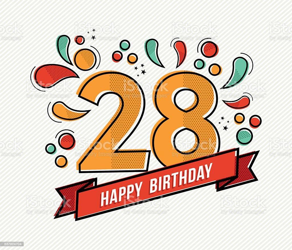 Открытка с днем рождения 28 лет девушке, день рождения