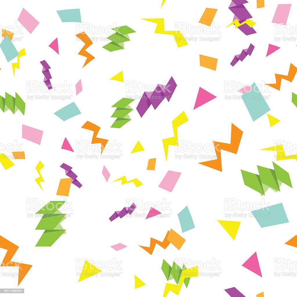 Colorful Happy Birthday Seamless pattern. colorful happy birthday seamless pattern – cliparts vectoriels et plus d'images de carré - composition libre de droits
