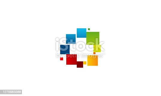 Colorful Health Logo designs concept vector, Plus logo template