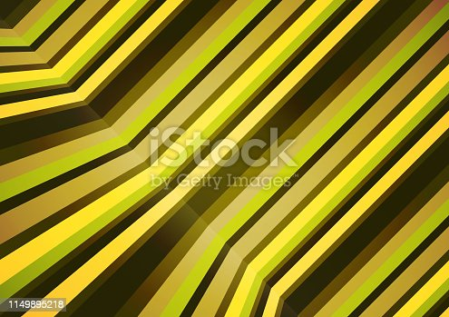 Colorful horizontal and vertical lines in a tilted perspective. Abstract geometric pattern. Vector illustration