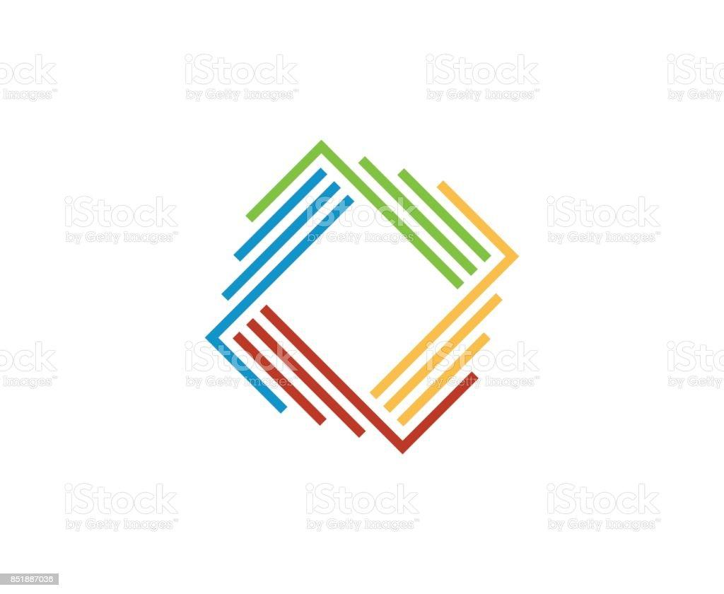 Colorful icon vector art illustration