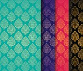 Colorful Indian pattern design