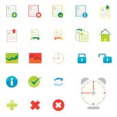 Colorful Internet Icon Set