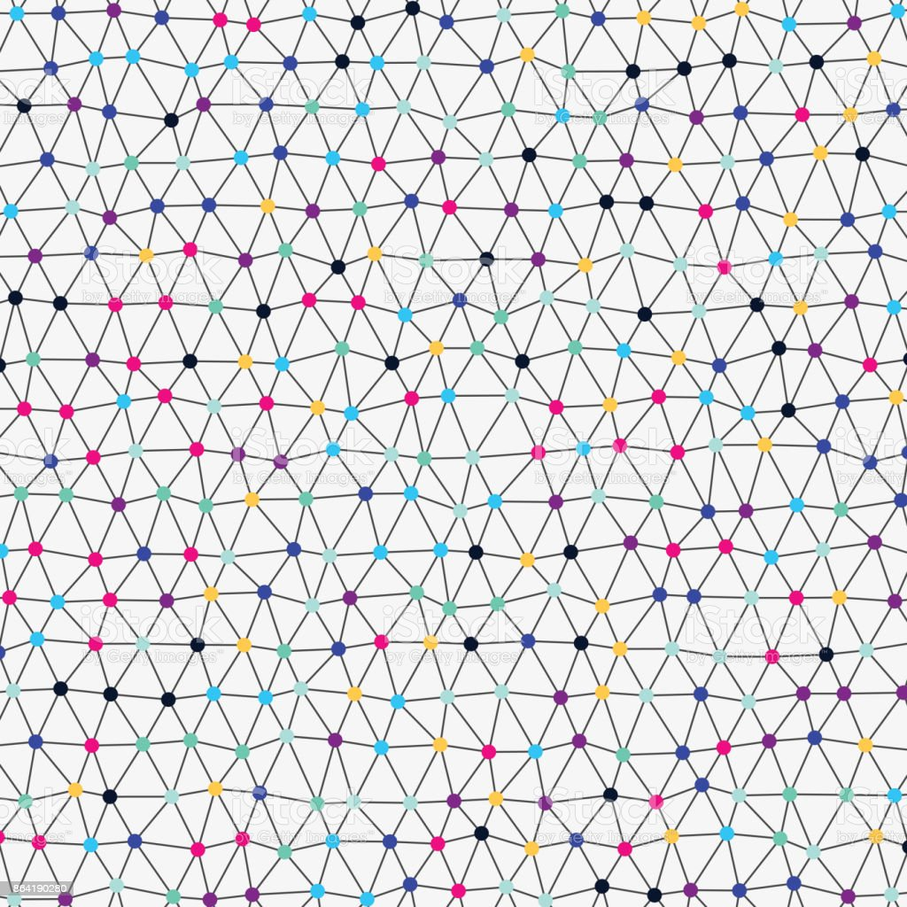 Colorful irregular network royalty-free colorful irregular network stock vector art & more images of abstract