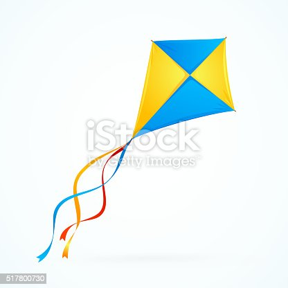 colorful kite vector stock vector art amp more images of