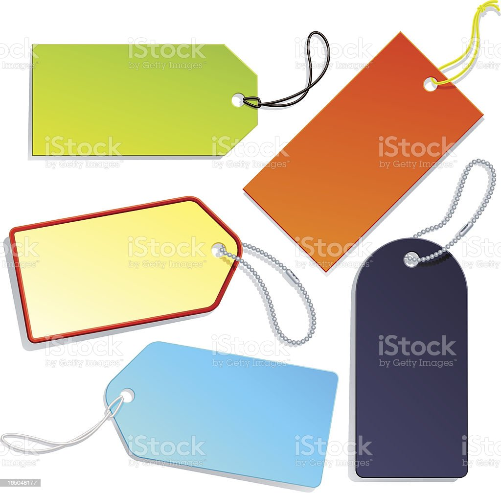 colorful labels or tags royalty-free colorful labels or tags stock vector art & more images of blue