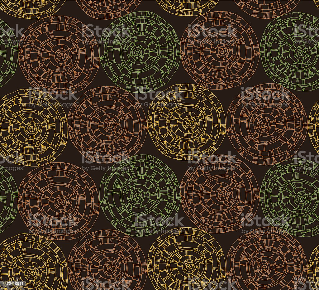 Colorful lace endless pattern with different circles royalty-free colorful lace endless pattern with different circles stock vector art & more images of art