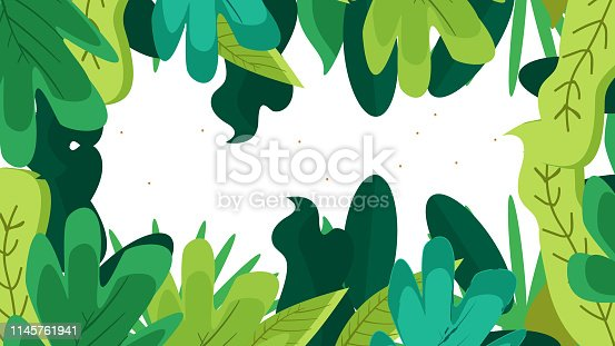 Colorful Leave Background