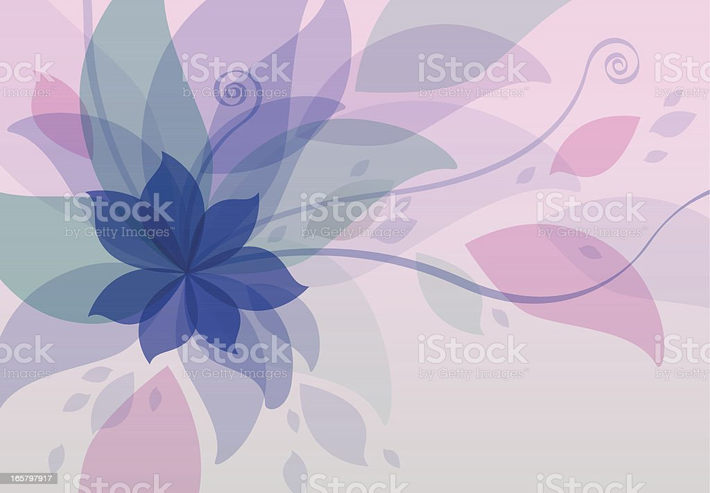 Colorful Leaves And Nature royalty-free stock vector art