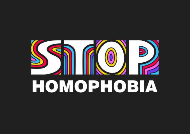 Frases Contra La Homofobia Vectores Libres De Derechos Istock