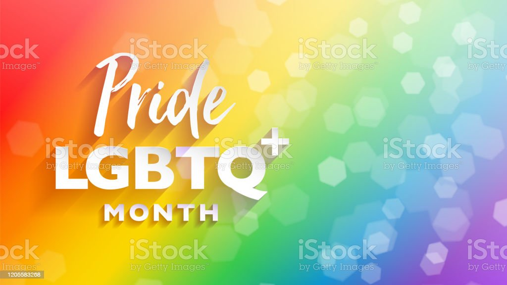 Colorful Lgbtq Pride Month Banner For Festival Parades And Party Events Abstract Rainbow Bokeh Background With Copy Space Stock Illustration Download Image Now Istock