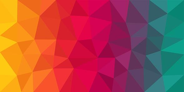 색상화 저해상 폴리 벡터 배경기술 0명에 대한 스톡 벡터 아트 및 기타 이미지
