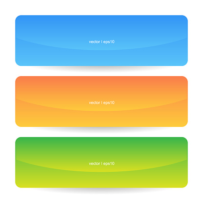 Colorful Modern Colorful Web Banners