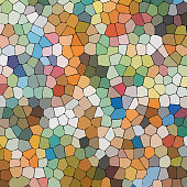 Colorful Mosaic Textured Background