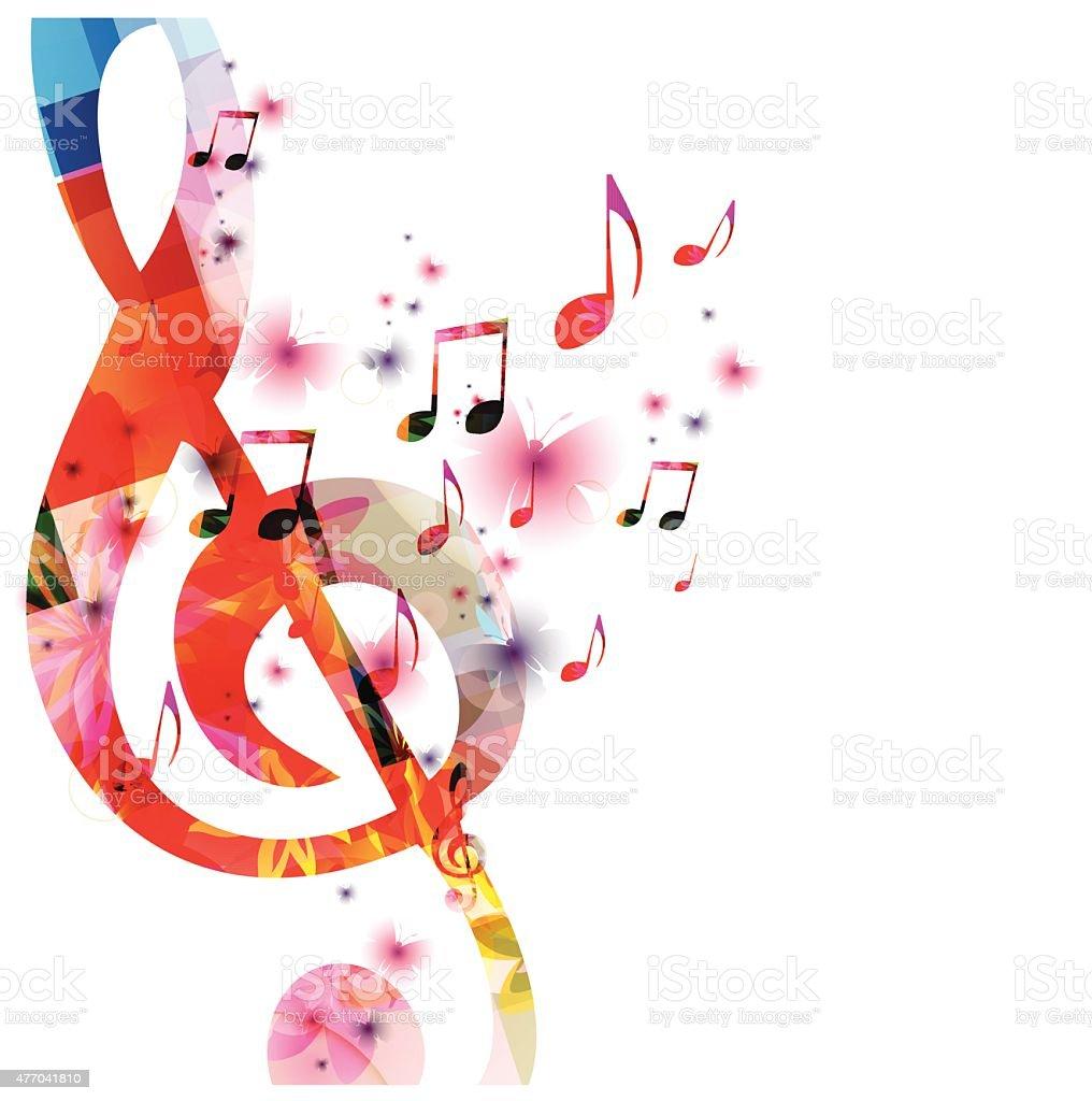 u30ab u30e9 u30d5 u30eb u306a u80cc u666f u97f3 u697d  u306e u30a4 u30e9 u30b9 u30c8 u7d20 u6750 477041810 istock music note vector musical notes vector art