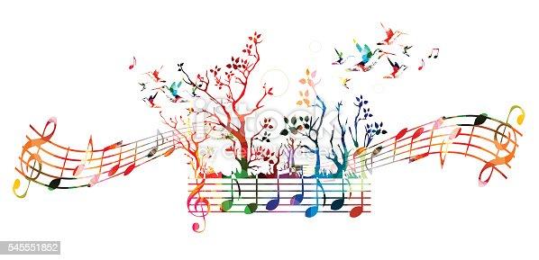 Musique haute en couleur de la musique de fond avec des for Haute musique
