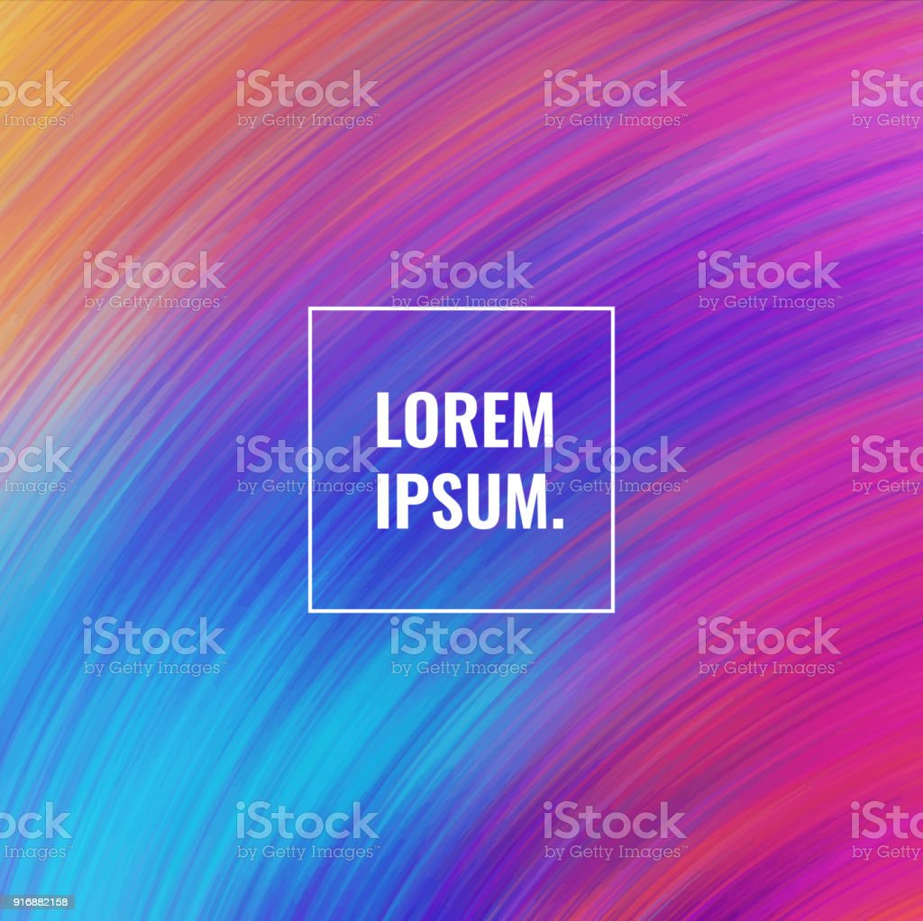Colorful paints background vector art illustration