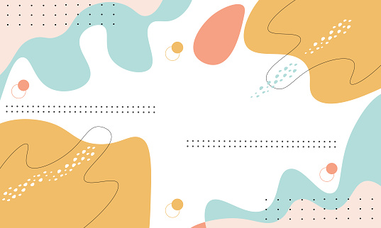 Colorful Pastel Abstract Background
