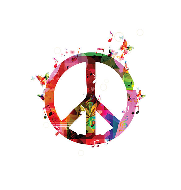 Royalty Free Peace Symbol Clip Art Vector Images Illustrations