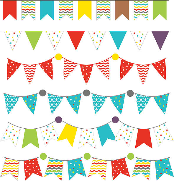 Royalty Free Happy Birthday Banner Clip Art, Vector Images