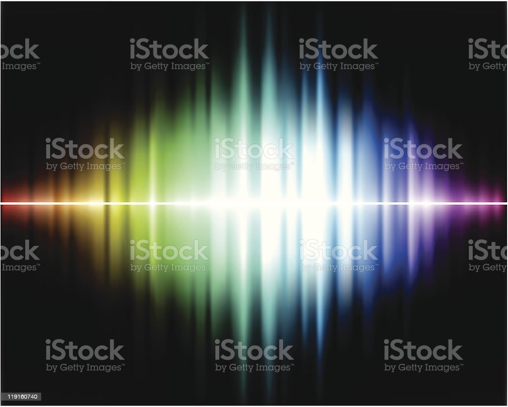 A colorful picture of a spectrum background royalty-free stock vector art