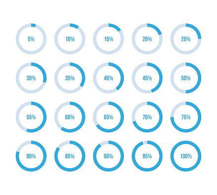 Colorful Pie Charts - Stockowe grafiki wektorowe i więcej obrazów Abstrakcja