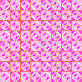 Colorful pinky geometric seamless pattern vector.