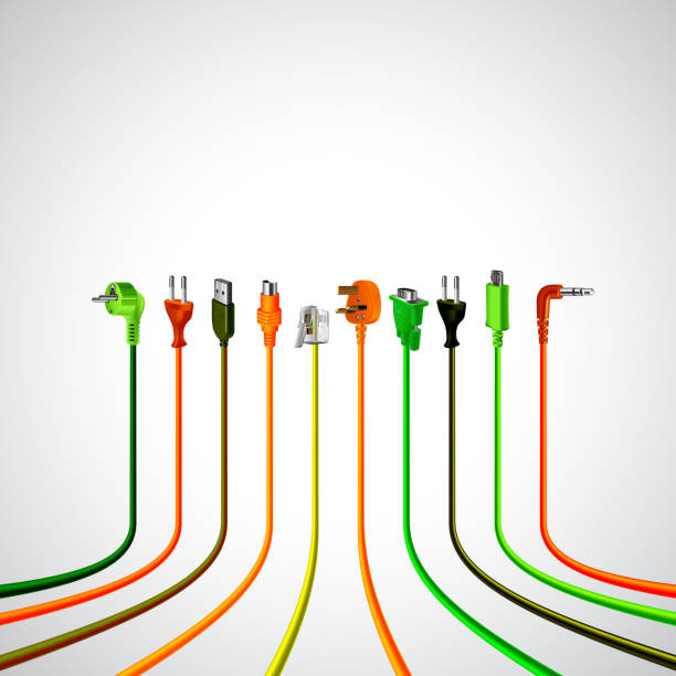 Cable Clip Art : Royalty free coaxial cable clip art vector images