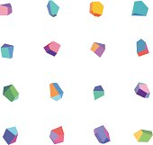 Colorful Polygonal Abstract