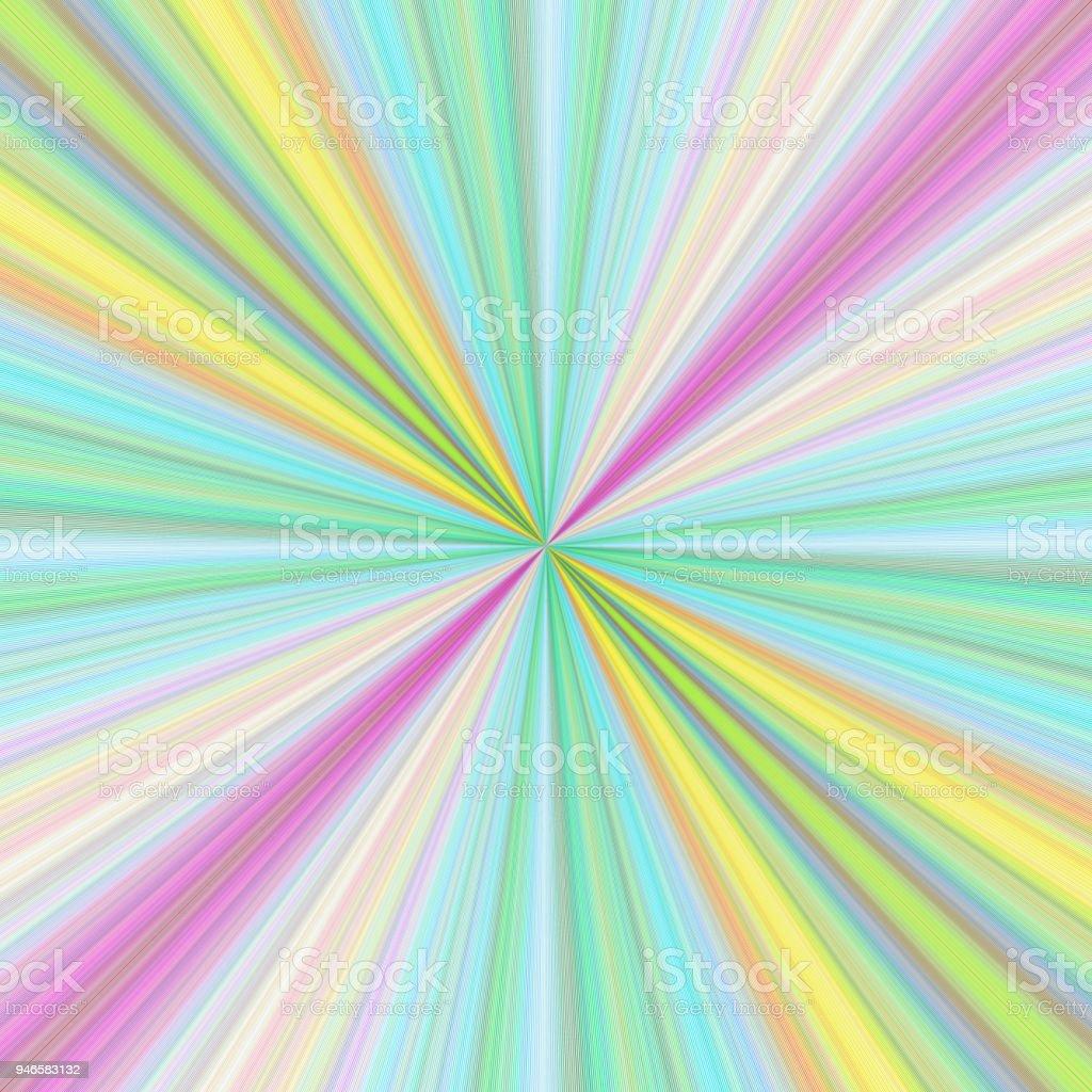 colorful ray burst background design royalty free colorful ray burst background design stock vector art